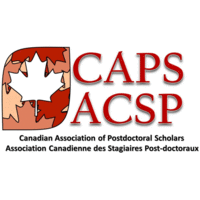 This is the logo for the canadian association of postdoctoral scholars