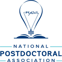 This is the logo for the national postdoctoral association